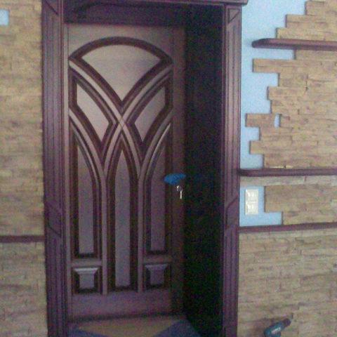 Комплект дверей из бука