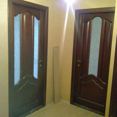 Комплект дверей из дуба