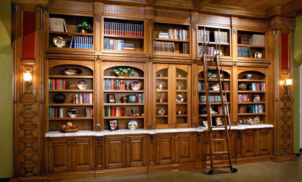 Шкафы для кабинета и библиотеки - taburan.