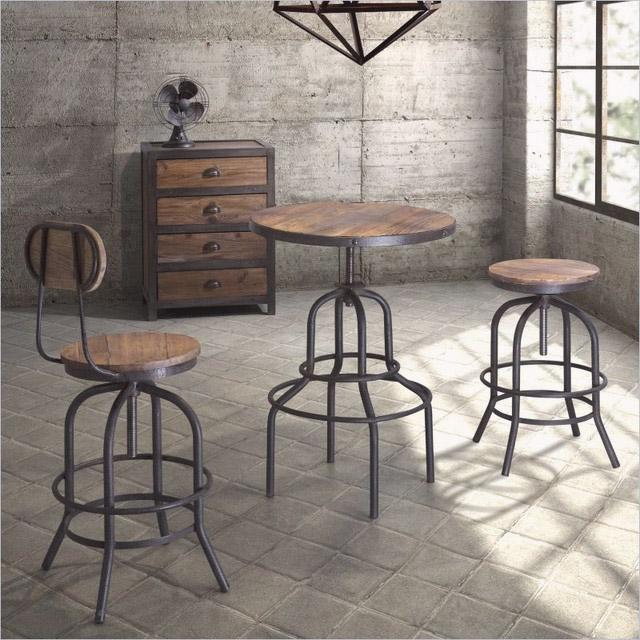 стулья в стиле лофт