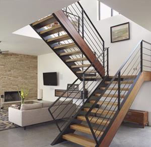 двумаршевая лестница